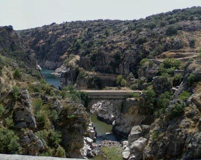 Vista desde la presa de El Villar