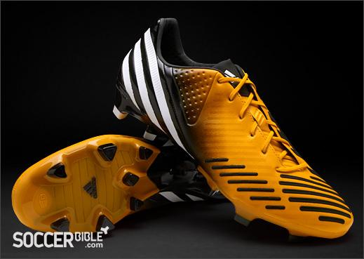 save off 90e66 0bde0 Gold Adidas Predator LZ Football Boots