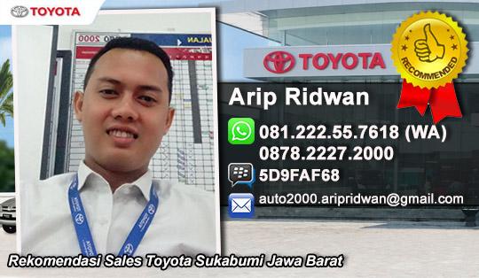 Dealer Bengkel Showroom Toyota Auto 2000 Sukabumi Jawa Barat