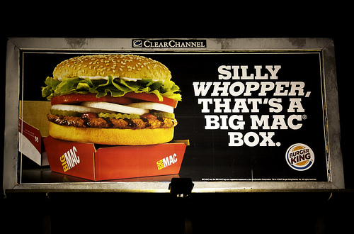 Burger king and its advertising campaigns