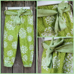 Harem style pants Available in size 0-4 Organic cotton