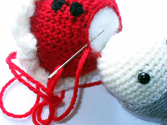 How to crochet in joined rounds | Shiny Happy World | 413x550