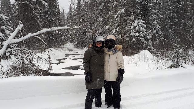 Centre d'aventure Mattawin hiver Québec neige