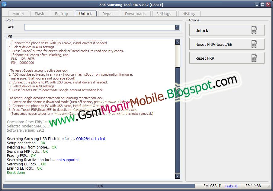 Samsung Galaxy Grand Prime SM-G531F FRP lock Remove Done By