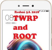 TWRP and root Redmi 5A