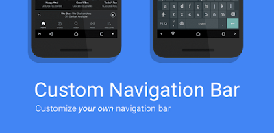 Get Android O Like Custom Navigation Bar Without Downloading Andorid O