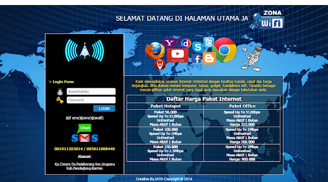 Mikrotik Template Free Download Login Page Hotspot