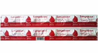 Harga Sangobion Terbaru 2017 Obat Kurang Darah Anemia