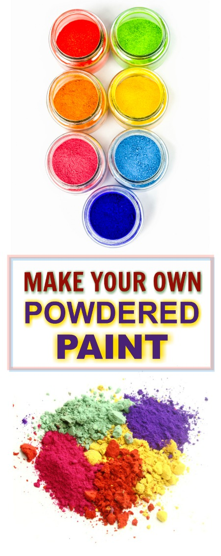 FUN KID PROJECT: Make powdered paint for arts, crafts, & play (easy recipe!!) #playrecipesforkids #paintingideas #playrecipes #artsandcraftsforkids #craftsforkids #activitiesforkids #paintingideasforkids #powderedpaint #powderedpaintactivities #powderedpaintdiy #powderpaint #paintrecipe #paintrecipeforkids #paintrecipeshomemade