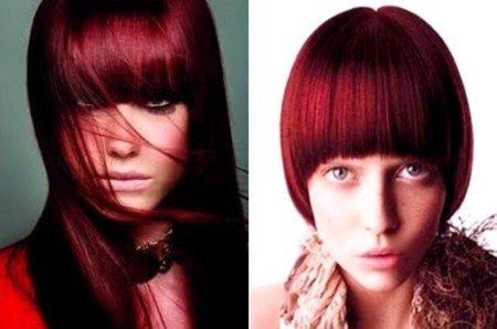 Hair Color Corner Crimson Red Rose Hair Color