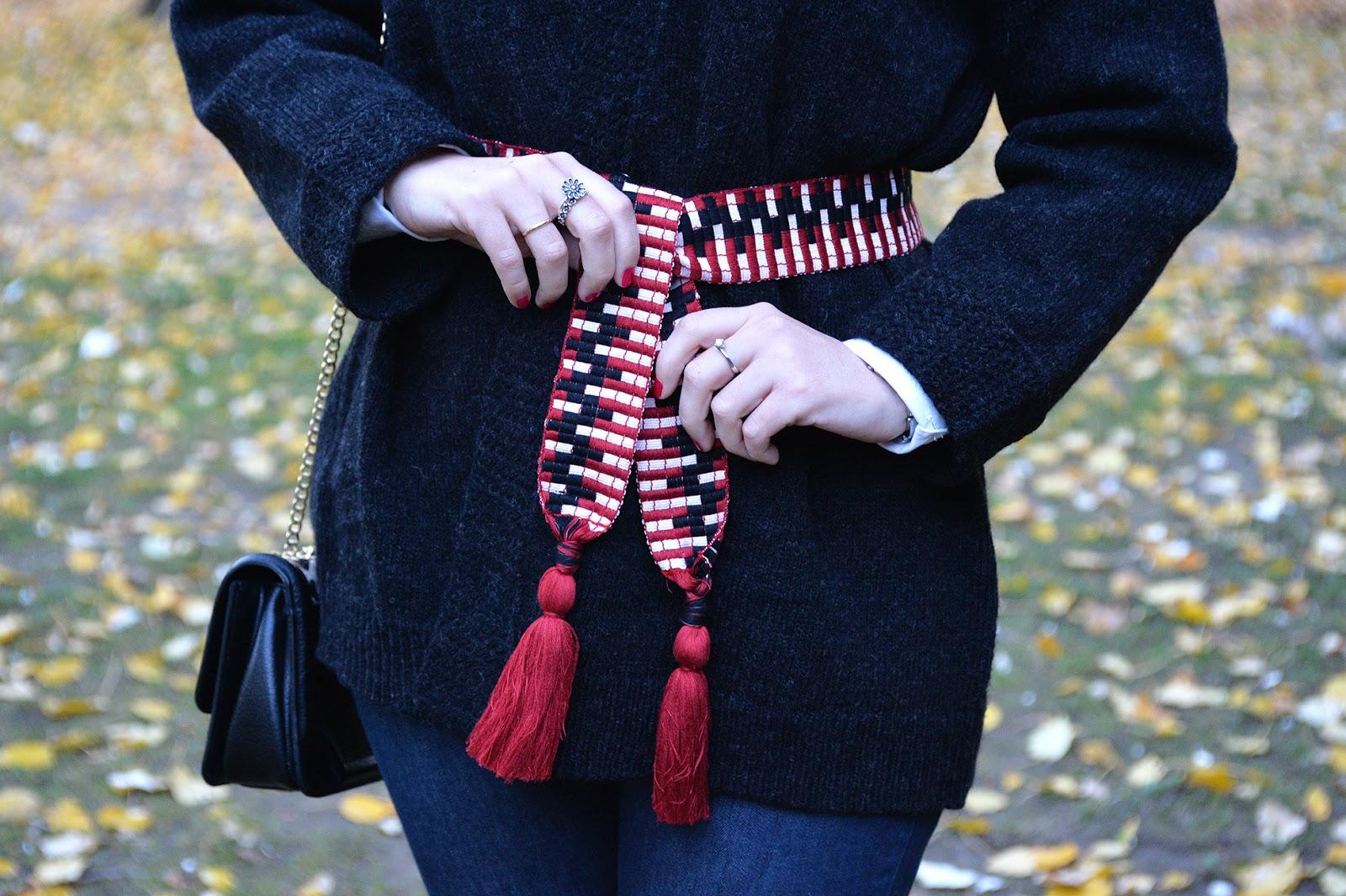 sezane alec kimono jumper fashion blogger
