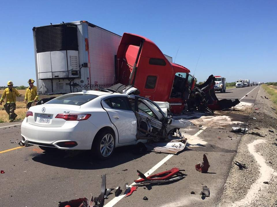 Fresno Visalia Bakersfield Accidents: Merced County Big Rig Crash
