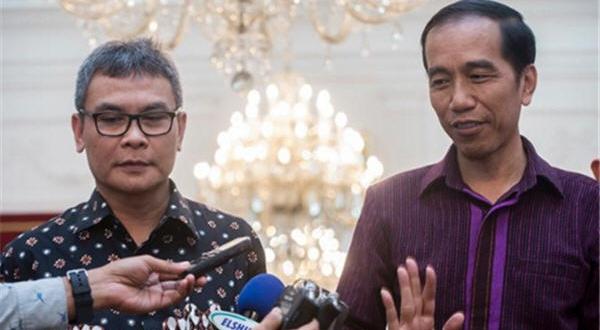 pak Jokowi menyatakan akan memboikot produk Israel, kemudian diralat
