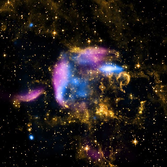 Supernova Remnant CTB 37A