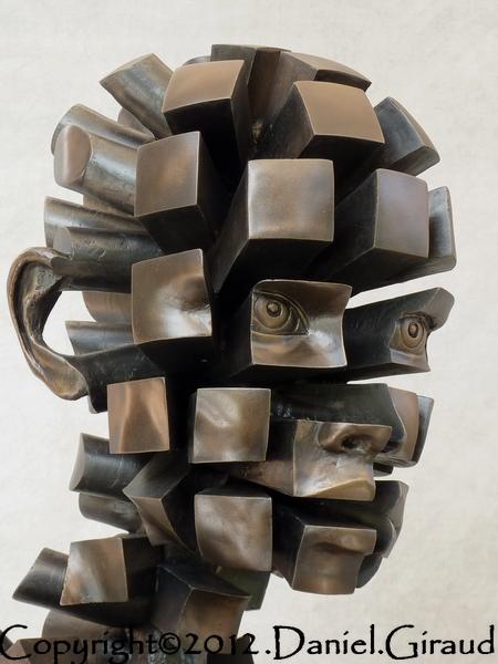 sculpture pixelisee