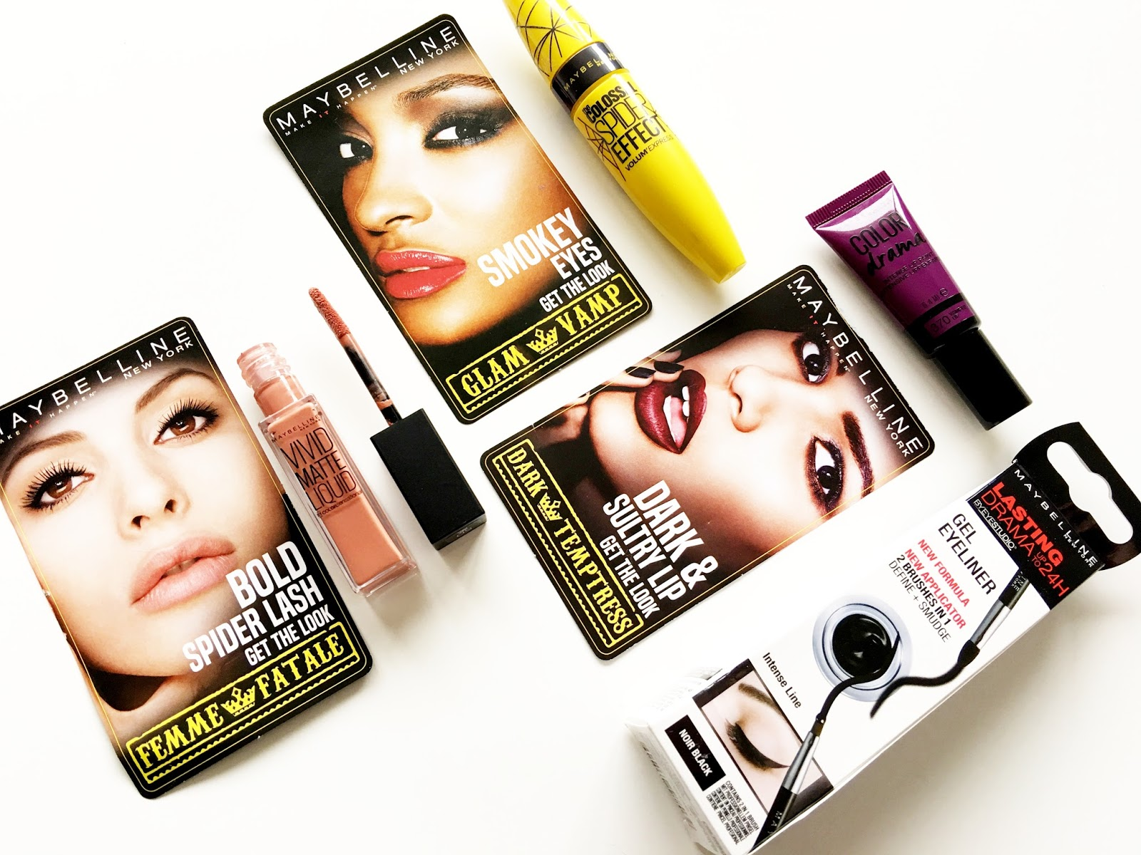 Halloween Makeup Looks with Maybelline