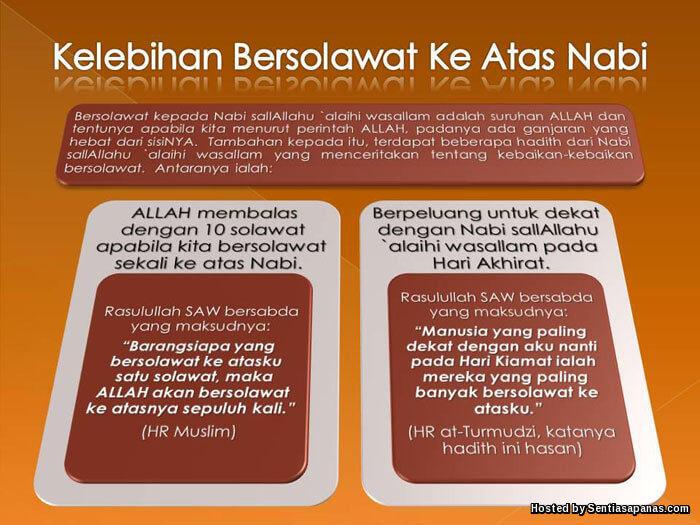 Ganjaran Berselawat 20 Kali Sehari Mendapat Syafaat Nabi Muhammad SAW