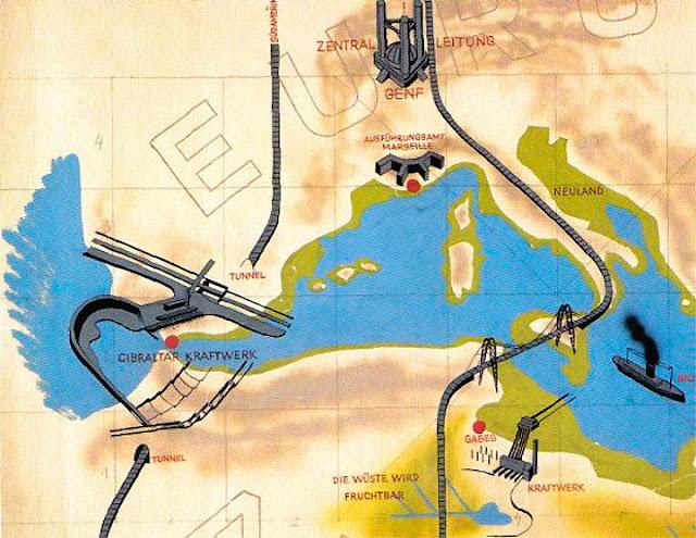 Mittelmeer Trockenlegen