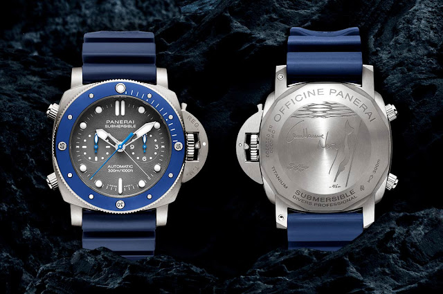 Panerai Submersible Chrono Guillaume Nery Edition PAM982