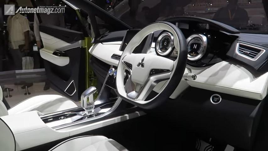 Interior Mitsubishi XM concept - Dibacaonline