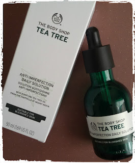 aceite de te the body shop