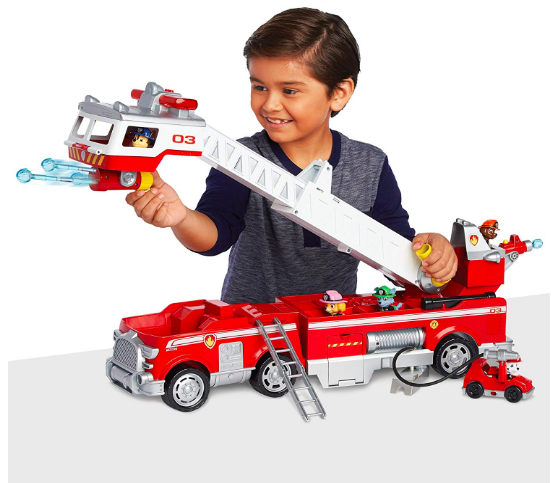 Amazon's Top 10 toys for Christmas 2018 - Paw Patrol Ultimate Rescue Fire Truck