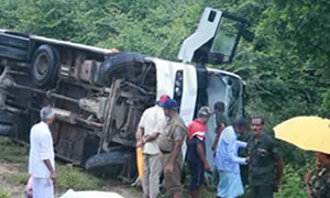Bus Accident In Sungavila
