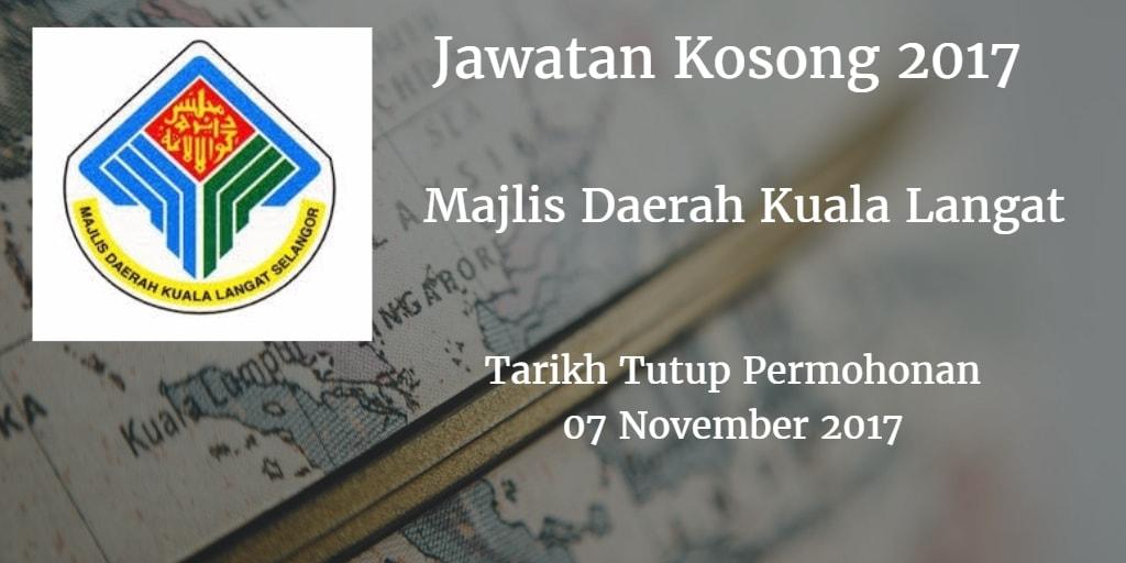 Jawatan Kosong MDKL 07 November 2017