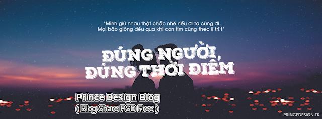 [PSD ẢNH BÌA] ĐÚNG NGƯỜI ĐÚNG THỜI ĐIỂM - THANH HƯNG