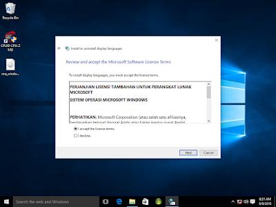 Cara Ubah Tampilan Windows 10 Menjadi Bahasa Indonesia