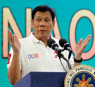 フィリピン ロドリゴ・ドゥテルテ大統領