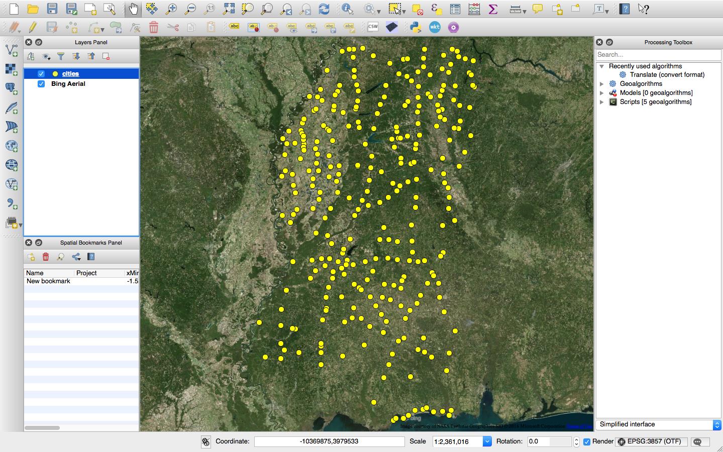 GeospatialPython com: 2016
