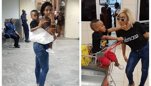 Tonto Dikeh Shares Adorable Photo With Her Son, Prays For All Barren Women