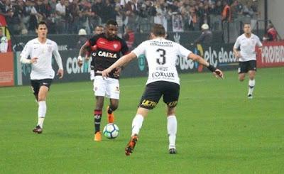 Vitória empata sem gols com o Corinthians fora de casa