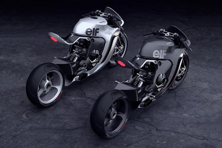 The concept of a Huge motorcycle Moto's MONO RACR