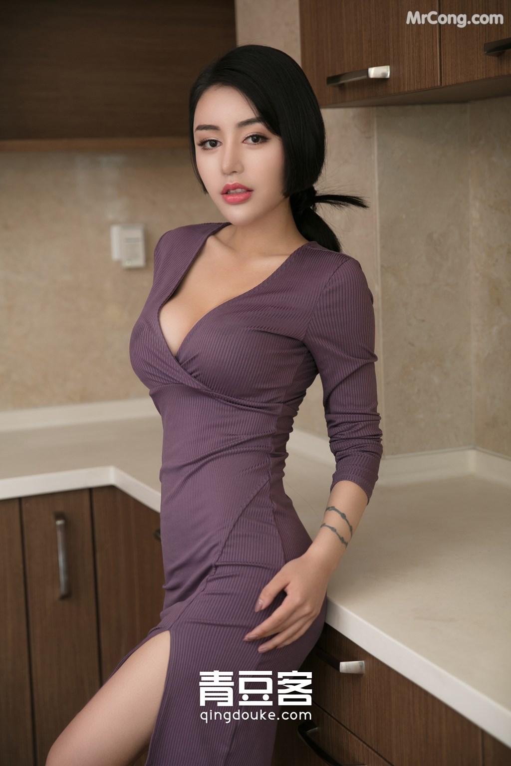 Image QingDouKe-2017-11-22-Lu-Zi-Qi-MrCong.com-001 in post QingDouKe 2017-11-22: Người mẫu Lu Zi Qi (陆梓琪) (51 ảnh)