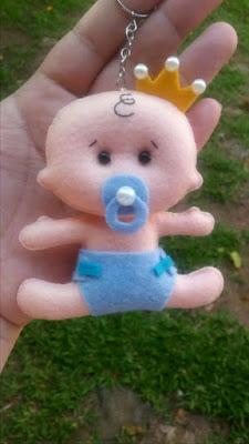 """alt=""""molde de bebê artesanato em feltro"""""""