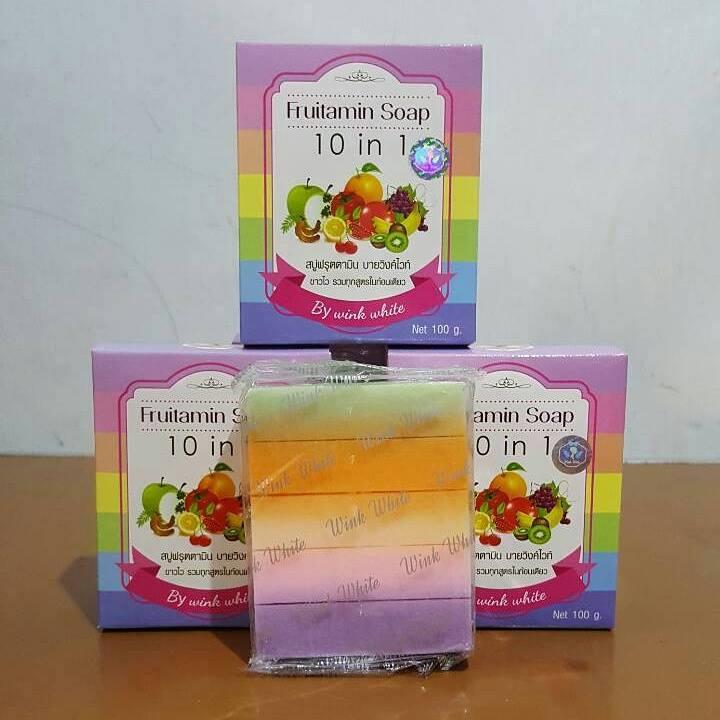 Febriyan Shop Whatsapp 085729033765 Jual Harga Fruitamin Soap Sabun