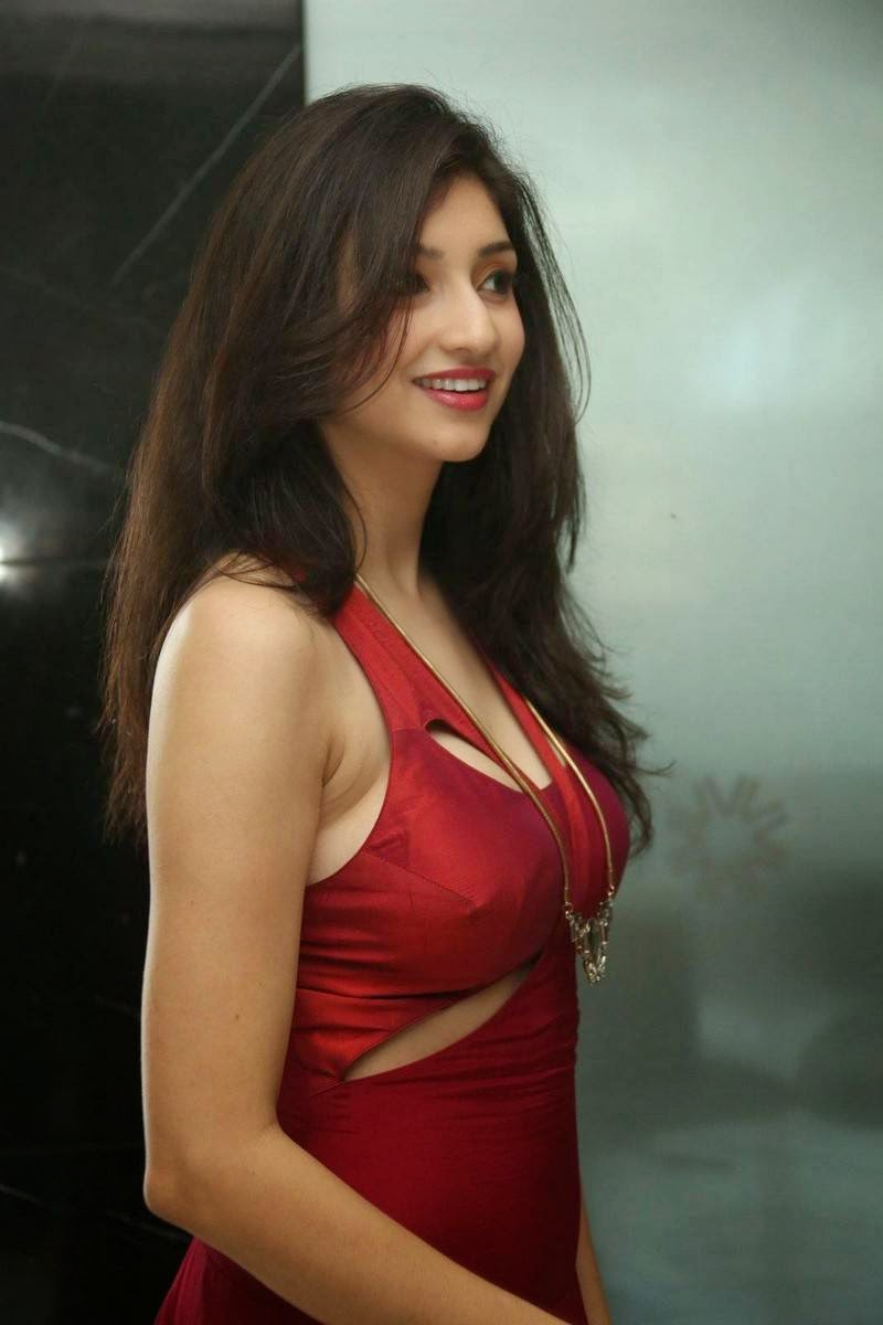 Actress Tanvi Vyas Latest Photo Gallery, Tanvi Vyas Red Hot Dress Sexy Pics