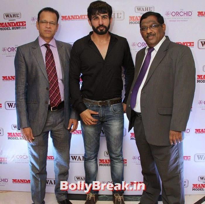 Jay Bhanushali, Mandate Model Hunt 2014 Grand Finale Photo Gallery