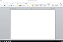 Cara Merubah Satuan Inchi Menjadi Centimeter di Microsoft Word
