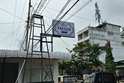 Installasi Background Musik & SoundSystem Karaoke di Caffein Cafe & Coffe Kisaran