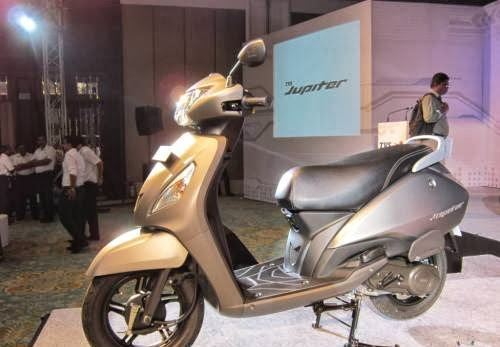 TVS Jupiter Launched In India At A Price Of Rs  44,200