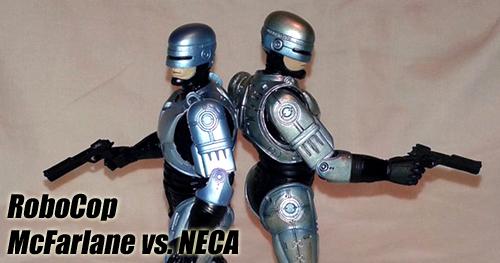 Robotzsaru: McFarlane Robocop vs. NECA Robocop bemutató