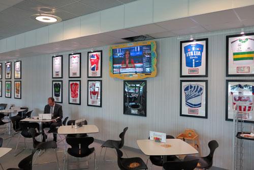 Velopark Cafe, National Cycling Centre.