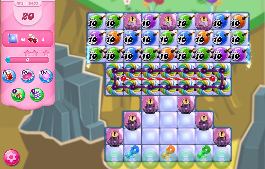 Candy Crush Saga level 6462
