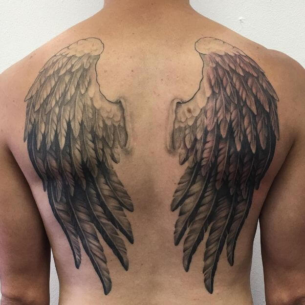 50 Gorgeous Angel Wing Tattoos Designs Ideas 2019 Page 4 Of 5