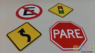 Locação Placas de Trânsito Decorativas Porto Alegre