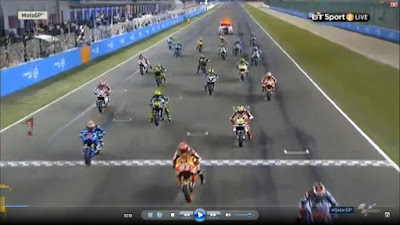 Hasil MotoGP Qatar 2016 Start