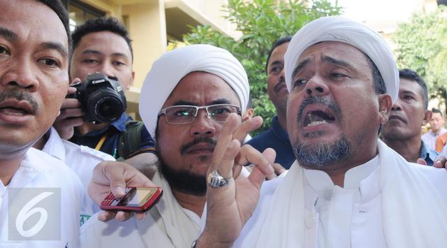 Saran untuk yang Mulia Habibana Rizieq Shihab, Jangan Takut dengan Aparat Penegak Hukum